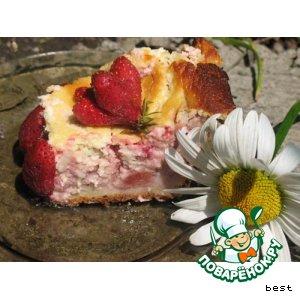 Нежнейший клубничный пирог