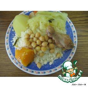 Рецепт Кускус с овощами и курицей