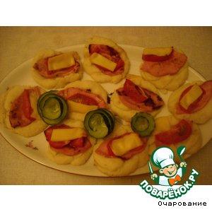 Рецепт Веночки картофельные