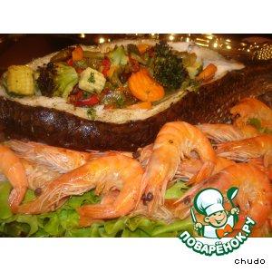 Рецепт Царское угощение из рыбы