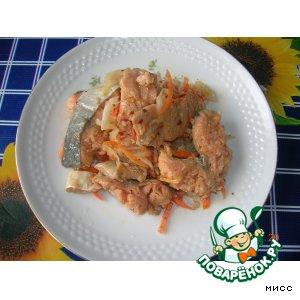 Рецепт Хе из красной рыбы