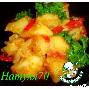 Рецепт Острый картофельный гарнир