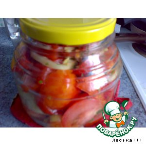 """Рецепт """"Живые помидоры"""" на зиму"""