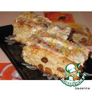 Рецепт Пирог яблочно-кокосовый с цельными орехами