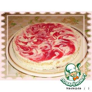 Рецепт Творожно - ягодный торт