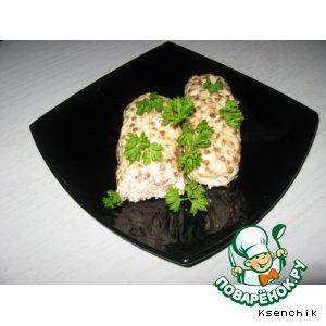 Рецепт Колбаски гречнево-куриные
