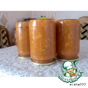 Рецепт Цветная капуста в жeлтом кетчупе с майонезом