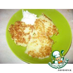 Рецепт Картофельно -кабачковые котлетки