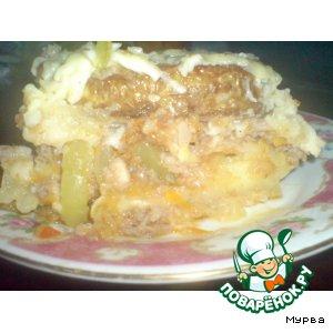 Рецепт Запеканка-кабачок