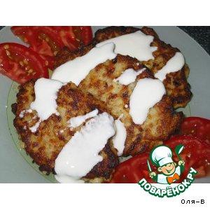 Рецепт Овощные котлеты с рисом