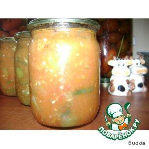 Рецепт Огурцы в томатном соусе