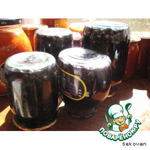 Черноплодная рябина вкусный пошаговый рецепт приготовления с фотографиями