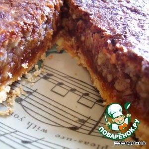 Рецепт Абрикосово-миндальный пирог