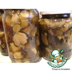 Рецепт Маринованные грибочки