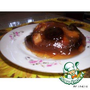 Рецепт Желе из яблок и чернослива