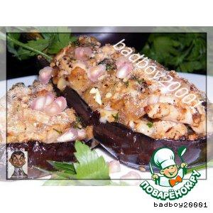 Рецепт Баклажаны с мясной начинкой