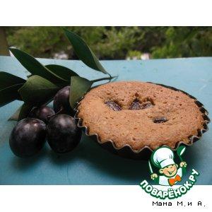 Рецепт Сливовые кексы с молотым миндалем