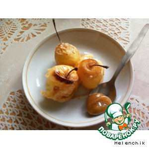 Рецепт Печеные яблочки