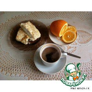 Рецепт Кофе с мятой и апельсиновой цедрой