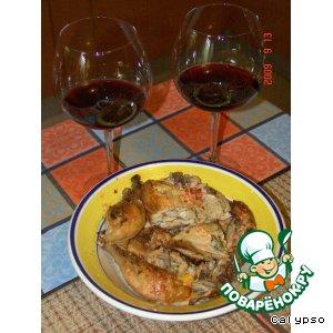 Рецепт Цыпленок гриль - Frango no Churrasco