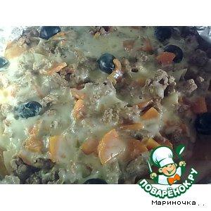 Рецепт Запеченые макарончики