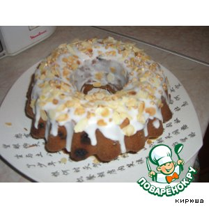 """Рецепт Кекс """"Домашний с брусникой"""""""