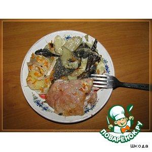Курица с овощами домашний пошаговый рецепт приготовления с фото как приготовить