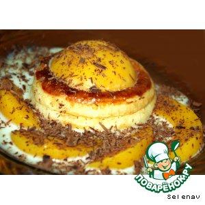 Рецепт Валованы с персиками