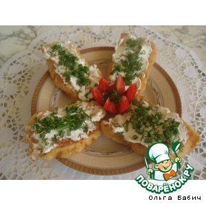 Рецепт Жареная рыбка с интересным  соусом