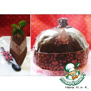 Рецепт Торт-купол «Шапка китайского мандарина»