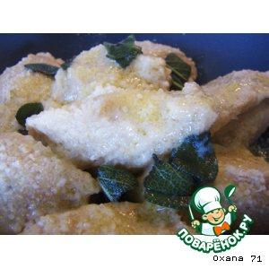 Рецепт Клeцки (ньeки-gnocchi) из тыквы и рикотты