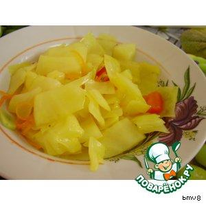 Рецепт Капуста по-гурийски (без свеклы)