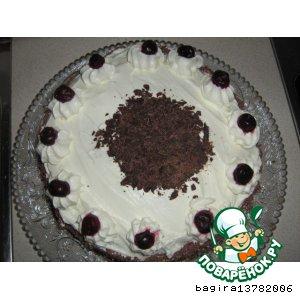 """Рецепт Торт """"Черный лес"""" или Шварцвальдский торт"""