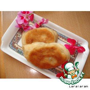 """Рецепт Авторский рецепт: Пирожки с картофелем """"Сусечные... """""""