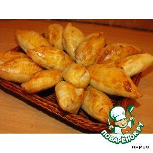 Рецепт Пирожки с баклажанами