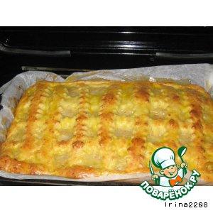 Рецепт приготовления с фото Луковый пирог