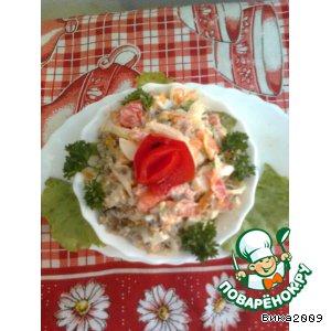 Рецепт Печеночный салатик