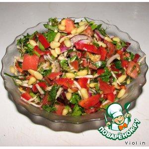 Готовим Салат с сельдереем простой рецепт с фото