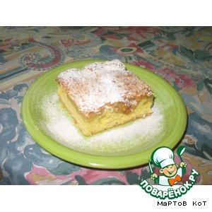 Рецепт Яблочный пирог простой