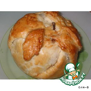 Рецепт Яблоки, запеченные в тесте