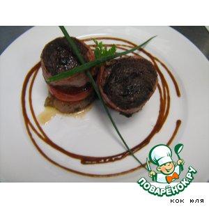 Рецепт Медальоны из говядины