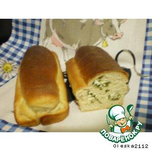 """Рецепт Хлеб """"Чесночно-сырный"""""""