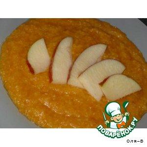 Кукурузная каша тыквенно-яблочная