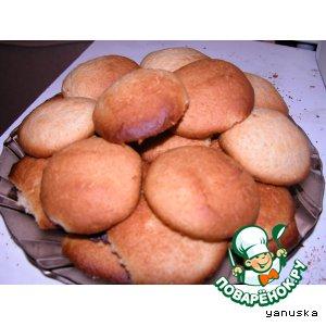Рецепт Имбирно-медовое печенье