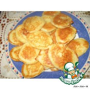 Рецепт Оладьи сырные