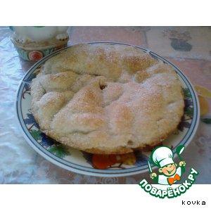 Рецепт Постный пирог с яблоками