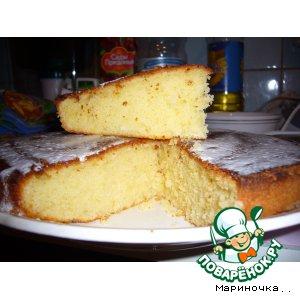 Как готовить Лимонный пирог домашний пошаговый рецепт приготовления с фотографиями