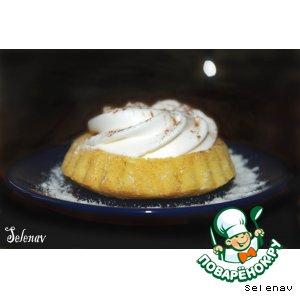 Рецепт Десертные тарталетки с лимоном и взбитыми сливками