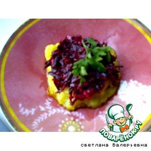 Свекольный бутерброд вкусный пошаговый рецепт приготовления с фото