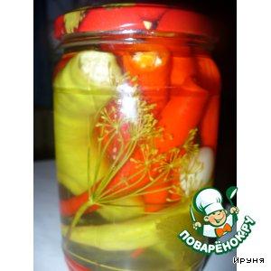 Рецепт Перец чили (острый, горький) консервированный
